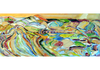 "Slumber, 30""x60"", Acrylic, Mixed Media, $5,600 Contact the artist for shipping cost"