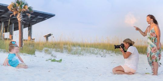 Family photography session in Gulf Shores