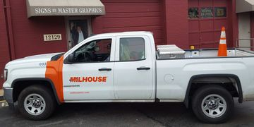 Pick Up Truck lettering
