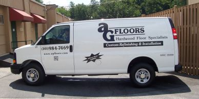 ag floors, van lettering cheap