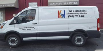 Van Lettering in Prince Georges COunty