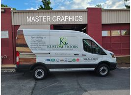 Kustom Floors:  Their name says it all.  Owned by a nice husband and wife team.