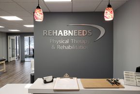 Reception Area Signs. Dimensional Letters on wall. Office Signs Wall Signs