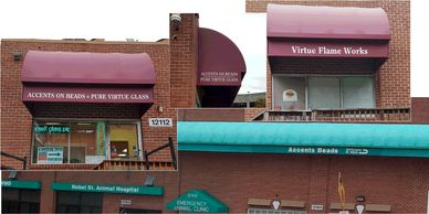 Lettering Awnings Awning Lettering Refacing Awnings. Awning Repaints.