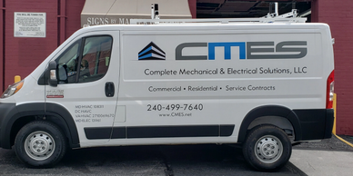 Van Lettering in Rockville Rockville Signs  Complete Mechanical  & Electrical Solutions.
