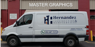 Signs by Master Graphics in Rockville, MD  Rockville Truck Lettering  MD Wraps