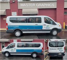 Van Lettering in Rockville, MD for Rolyn Companies.