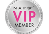 National Association of Professional Woman VIP badge awarded to Dana Guillory.