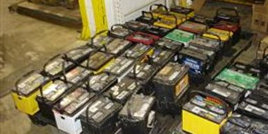 Used car batteries for cash.