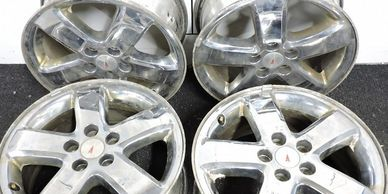 Trade your old aluminum rims for cash.