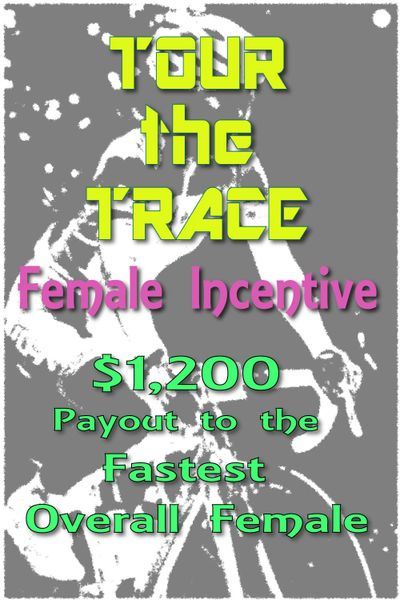 female cycling incentive cash payout