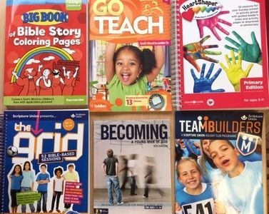 Sunday School Resources at the Good News Centre in Loughborough