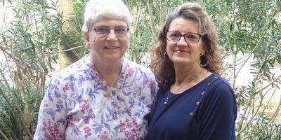 Diane Curlee and Lisa Rigden
