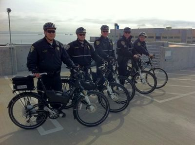 Police on eBike Municipalities and eBikes