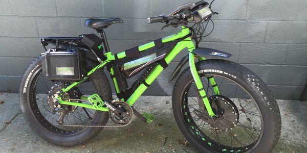 Custom Fat Tire EBikes. Custom Electric Fat Tire Bicycles