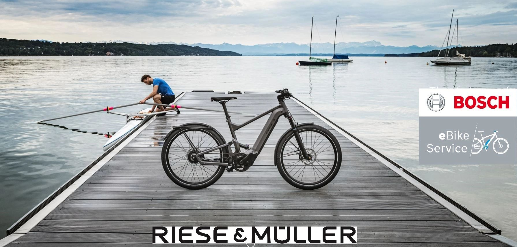 Riese & Muller electric bikes. Electric assist bikes, ebikes, E-Bikes.