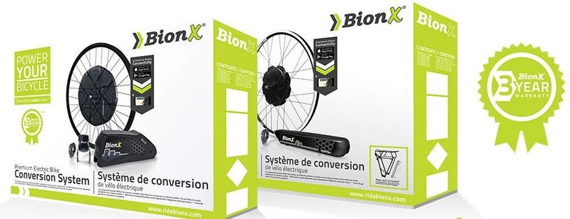 BionX Electric Bicycle Conversion Kits
