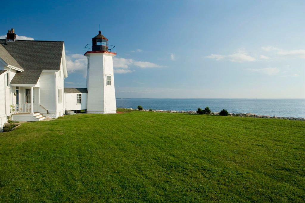 Wings Neck Lighthouse vacation rental on Cape Cod with beautiful ocean views