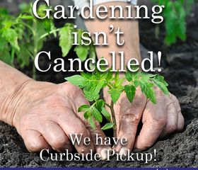 Gardening Curbside pick up bagged products Seeds