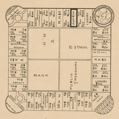 The Landlord's Game 1904 Patent Drawing
