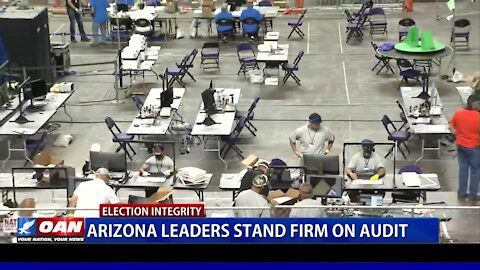Ariz.  Leaders stand firm on the audit