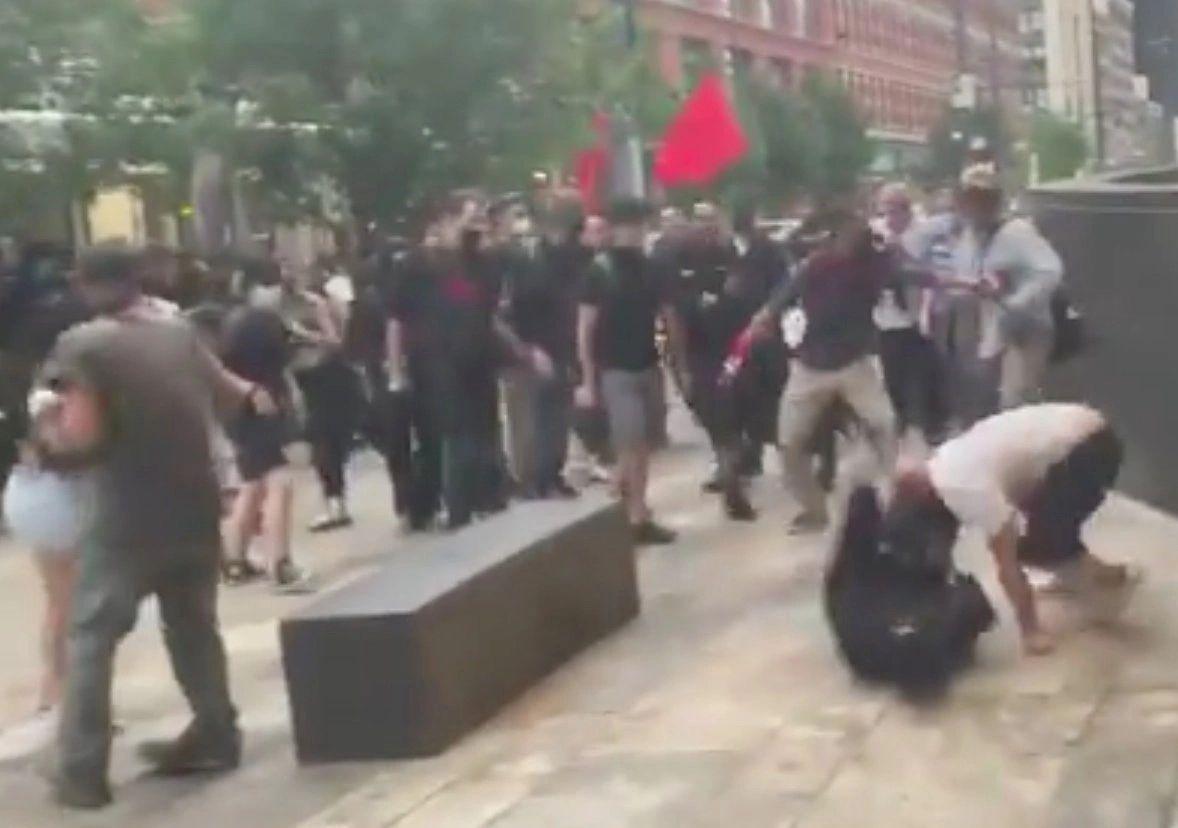 Violence erupts at the Denver Conservative Conference
