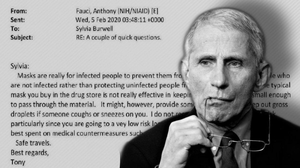 SMOKING GUN: FAUCI LIED, MILLIONS DIED