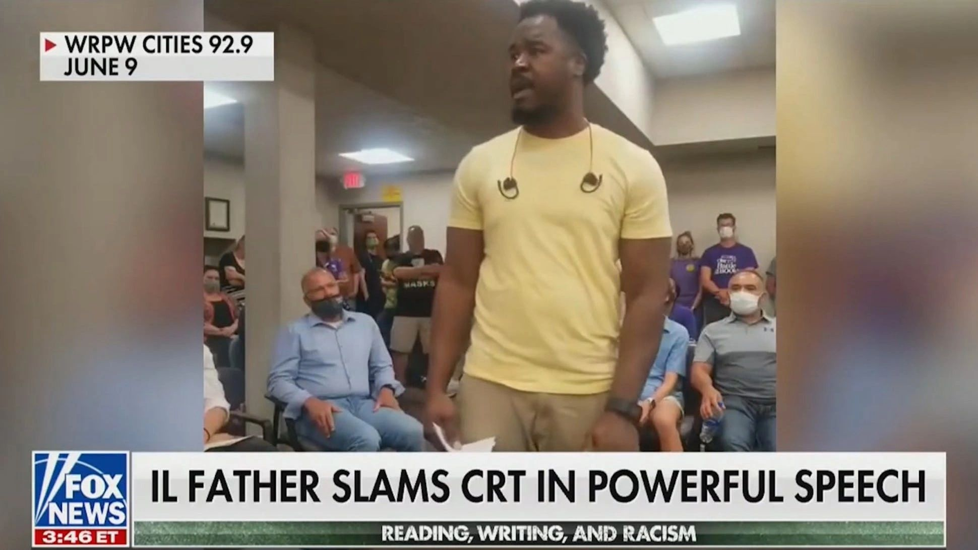 WATCH: Black father explodes at critical race theory at reunion