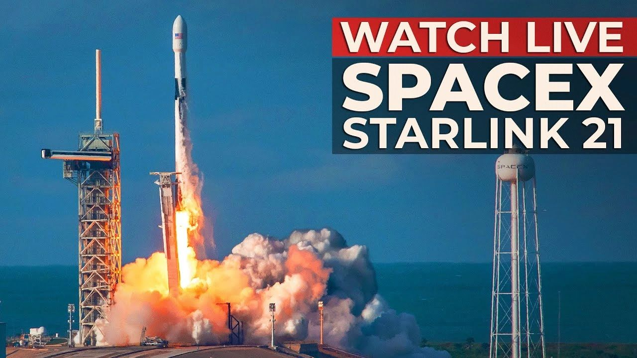 WATCH: SpaceX Falcon 9 launching Starlink 21 mission from LC-39A