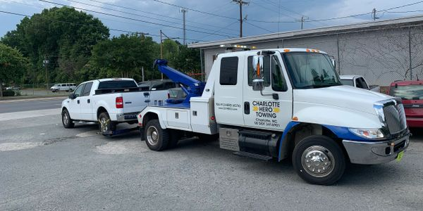 Light Duty and Medium Duty towing in Charlotte NC