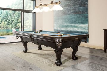 Canadiana Pool or Snooker Table by Canada Billiard