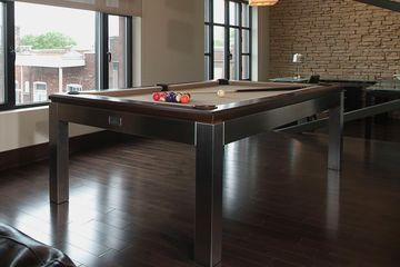 La Condo Stainless Pool Table by Canada Billiard