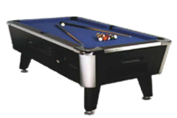 Legacy Coin-Operated Pool Table by Canada Billiard