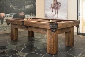 Ranch (Red Pine) Pool Table by Canada Billiard