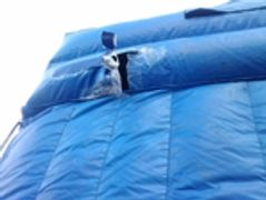 Inflates Water Slide Repair- Before