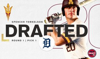 Spencer Torkelson is an American baseball first and third baseman in the Detroit Tigers organization
