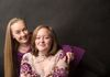 Mother and daughter portrait session with lifelong photography in studio photo session