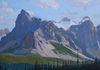 Entering the Valley of Ten Peaks, 20 x 30, Available for sale through Mountain Galleries
