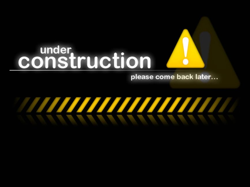 under construction, please come back later