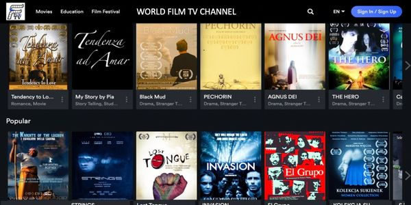 World Film TV Channel for FlixiTV