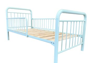 Toddler bed. metal bed. domestic. kids beds. kids. toddlers. TubeCo. manufacturers.