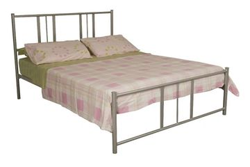 Viva. metal bed. single. king single. double. queen. TubeCo. manufacturer.
