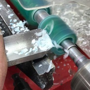 Turning Acrylic on the Lathe