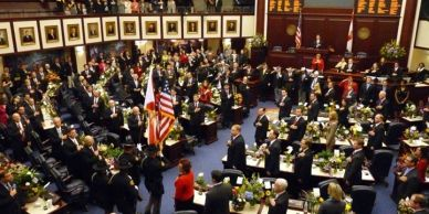 Florida House of Representatives in session