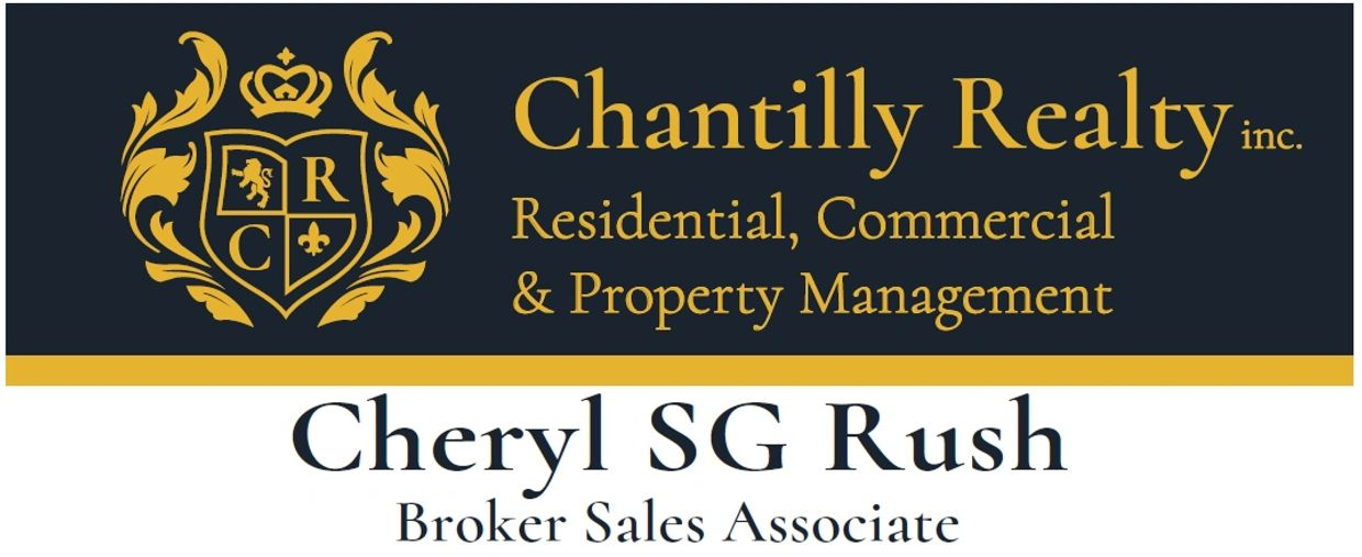 Cheryl SG Rush, Broker Sales Associate at Chantilly Realty Inc., a Florida Licensed Real Estate Brok