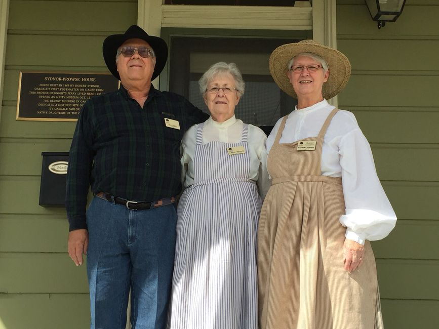 "Our ""Prairie Volunteers"" on the front porch, await your return once the Covid is no more!"