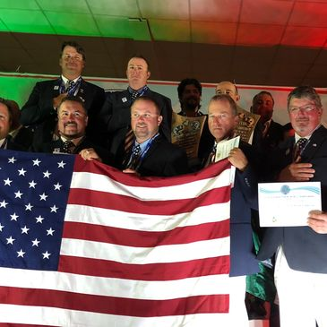 Gold medal winners USA Bass team mexico