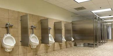 Commercial cleaning chemicals janitorial supplies davenport ia janitorial equipment restroom bathroom toilets urinals