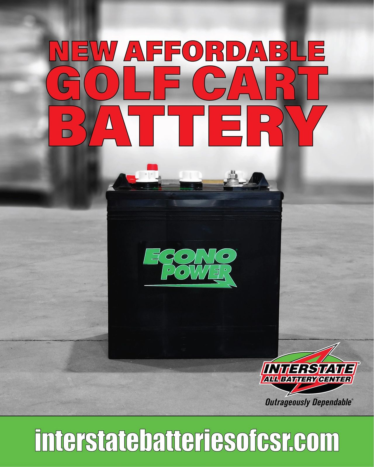 New Affordable Golf Cart Batteries!