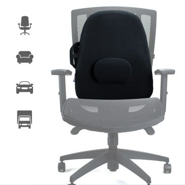 Award-winning backrest support, the ObusForme Lowback Backrest Support